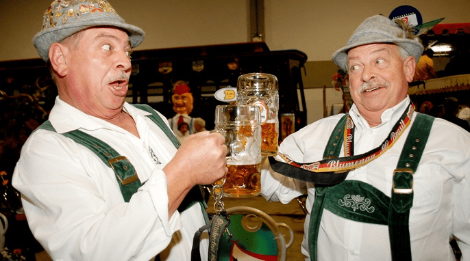 German Beer Festival weekend 1-4 Sept!