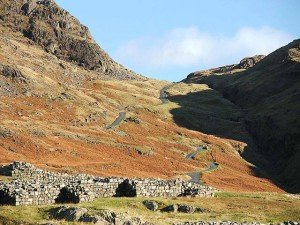 Hardknott Pass for Pace Egg Rolling