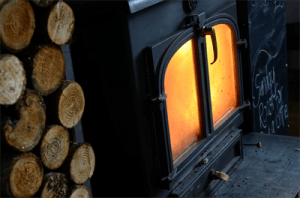 Greendoor Wood Burning Fire