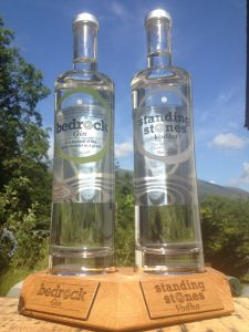 bedrock gin spirit of the lakes at the woolpack hardknott pass