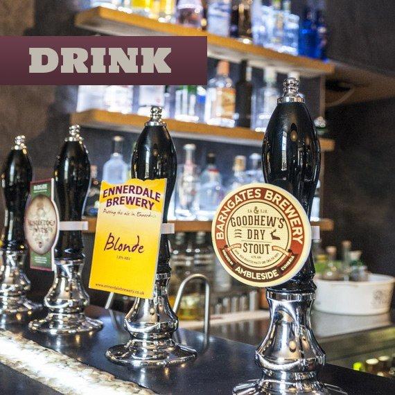 real ale, fine wine and vodka bar