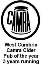 west cumbria cider pub of the year